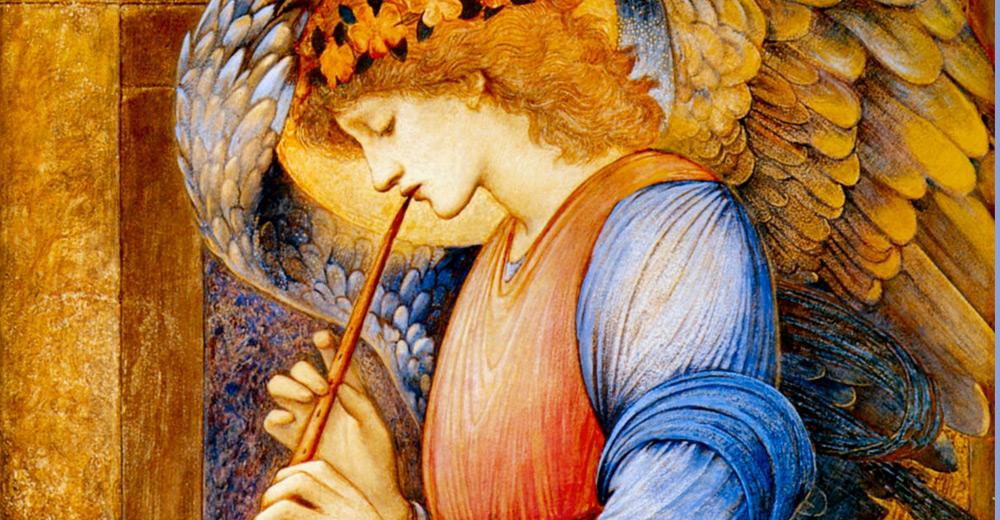 Anděl s flétnou