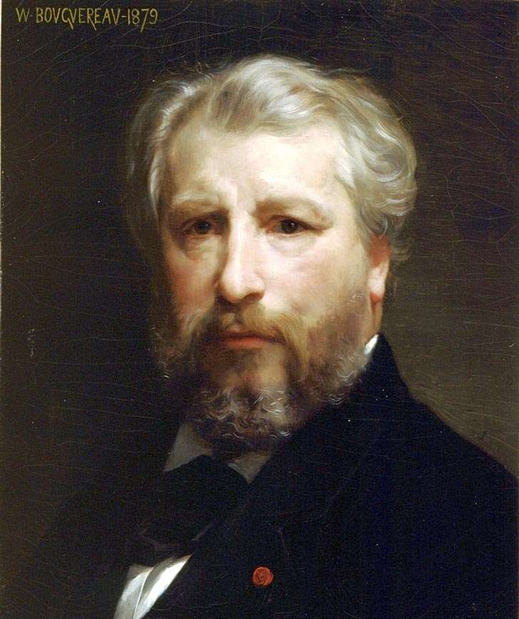 William-Adolphe Bouguereau - PORTRÉT